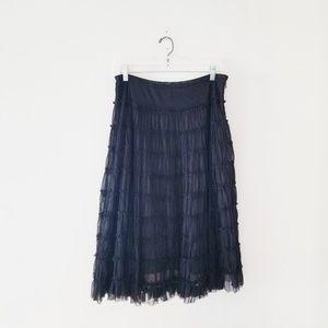 Garnet Hill skirt.